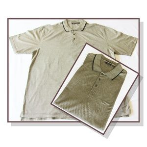 Tasso Elba Double Mercerized Cotton Golf Shirt